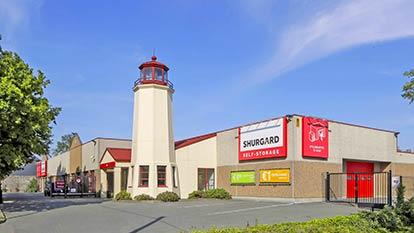 Opslagruimte bij Shurgard Sint-Pieters-Leeuw