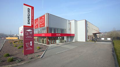Self-storage at Shurgard Wavre