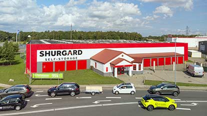 Self-storage at Shurgard Ishøj