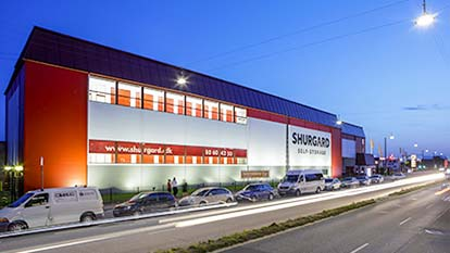 Self-storage at Shurgard Valby - Sydhavnen