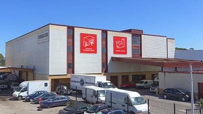 Self-storage at Shurgard Aix La Pioline