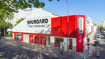 Self-storage at Shurgard Asnières