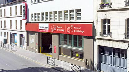 Self-storage at Shurgard Clichy