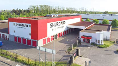 Self-storage at Shurgard Coignières