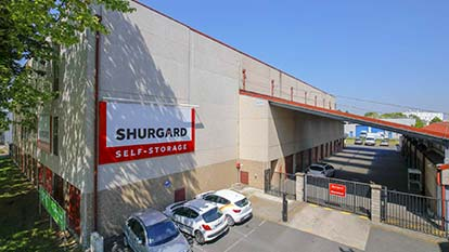Self-storage at Shurgard Grigny
