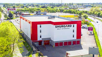 Self-storage at Shurgard Les Ulis