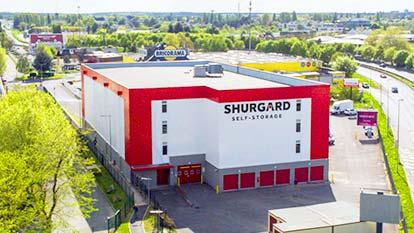 Self-storage at Shurgard Les Ulis