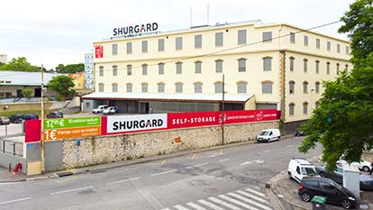 Self-storage at Shurgard Marseille Le Canet