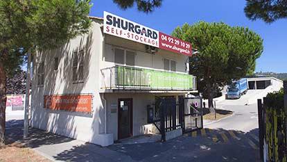 Self-storage at Shurgard Nice Saint-Isidore