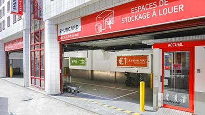 Self-storage at Shurgard Paris - Gare de l'Est