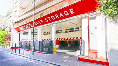 Self-storage at Shurgard Paris - Nation