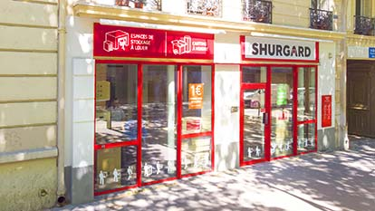 Self-storage at Shurgard Paris - Porte de Pantin