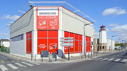 Self-storage at Shurgard Pierrefitte