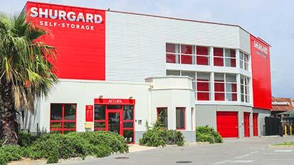 Self stockage à Shurgard Villeneuve-Loubet