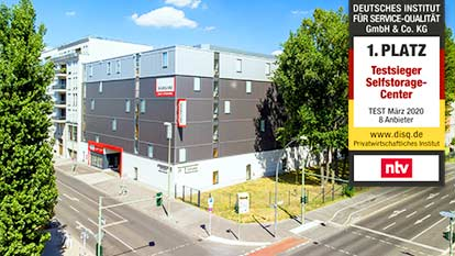 Self-Storage bei Shurgard Berlin Friedrichshain