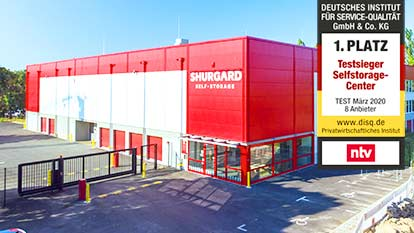 Self-Storage bei Shurgard Berlin Neukölln