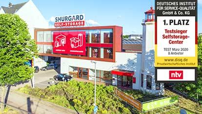 Self-Storage bei Shurgard Düsseldorf Heerdt
