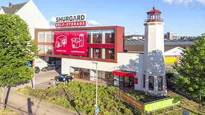 Self-Storage at Shurgard Düsseldorf Heerdt