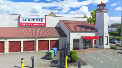 Self-Storage at Shurgard Düsseldorf Centre
