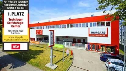 Self-Storage bei Shurgard Hamburg Alsterdorf