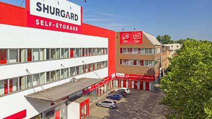 Self-Storage bei Shurgard Hamburg Stellingen