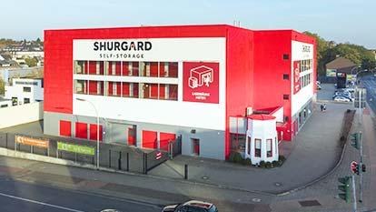 Self-Storage bei Shurgard Mönchengladbach Nordpark