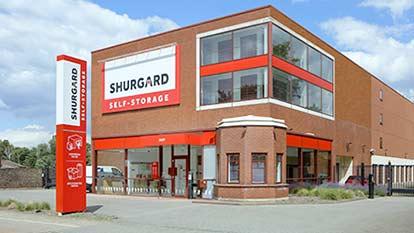 Self-Storage bei Shurgard Mülheim-Ruhr