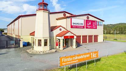 Magasinering hos Shurgard Göteborg Backaplan