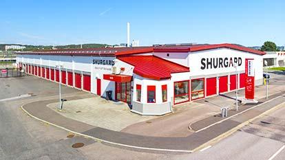 Magasinering hos Shurgard Göteborg Munkebäck