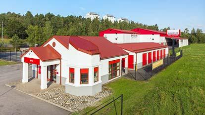 Magasinering hos Shurgard Högdalen