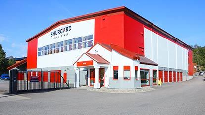 Magasinering hos Shurgard Högsbo