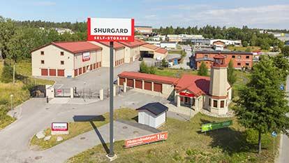 Magasinering hos Shurgard Södertälje