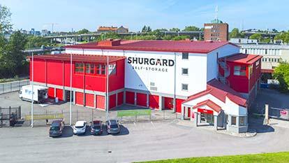Self-Storage at Shurgard Stockholm Årstaberg