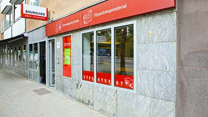 Self-Storage at Shurgard Stockholm Södermalm