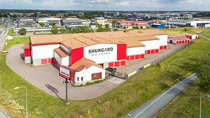 Magasinering hos Shurgard Uppsala