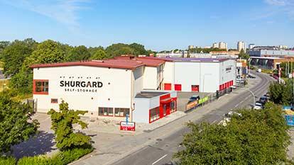 Magasinering hos Shurgard Vällingby–Bromma