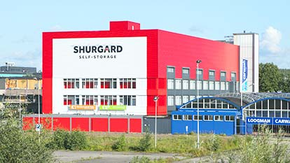 Self-storage at Shurgard Amsterdam Amstel