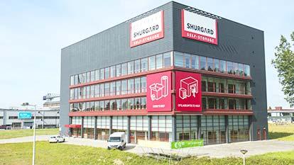 Opslagruimte bij Shurgard Amsterdam Noord