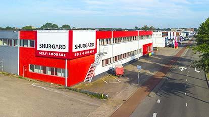 Opslagruimte bij Shurgard Den Bosch