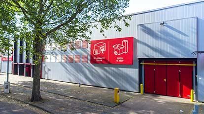 Self-storage at Shurgard Eindhoven Centrum