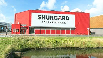 Opslagruimte bij Shurgard Rijswijk