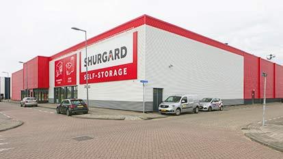 Self-storage at Shurgard Rotterdam Feijenoord