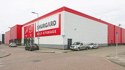 Self-storage at Shurgard Rotterdam Feijenoord