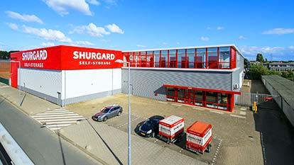 Self-storage at Shurgard Rotterdam Spaanse Polder Giessenweg