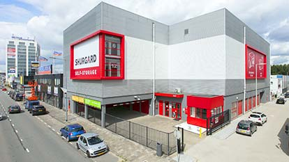 Self-storage at Shurgard Rotterdam Stadionweg