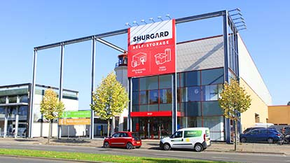 Self-storage at Shurgard Tilburg