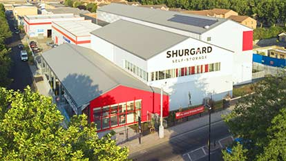 Self-Storage at Shurgard Deptford