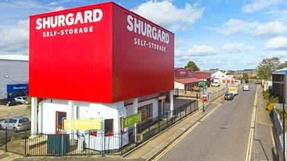 Self-Storage at Shurgard Hanworth