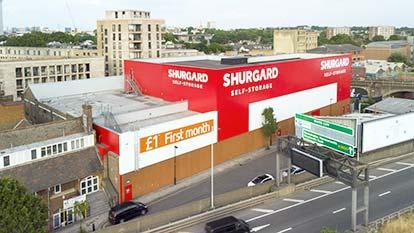 Self-Storage at Shurgard Kensington