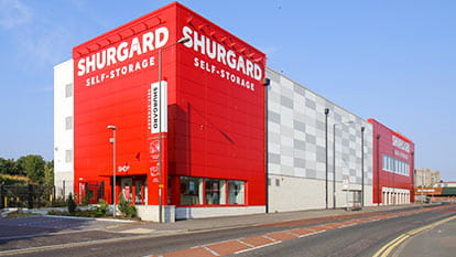 Self-Storage at Shurgard Woolwich